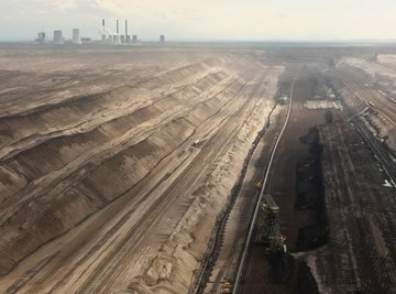 Industrial pollution can linger in soil for long periods.