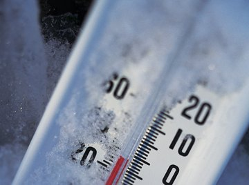 No matter how hard the wind blows, it can't lower a thermometer's reading.