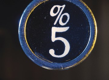 You can also read five percent as