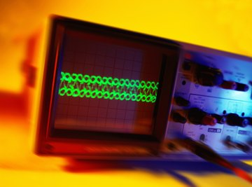 An oscilloscope can be used to measured mixed AC and DC electrical signals.