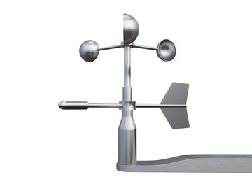 Kids can make a weather vane and an anemometer with just a couple items and some know-how.