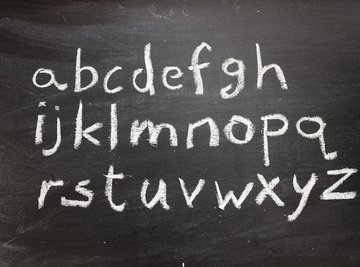 Select any alphabetic letter to use as a variable.