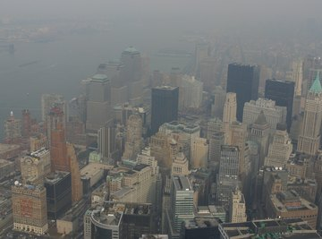Increased smog and decreased air quality have become bigger problems.
