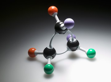 Bond energy holds atoms in place.