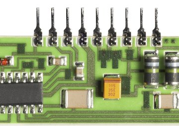 Modern electronics use integrated circuit chips.