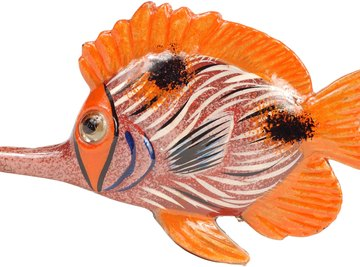The 3D model allows you to be realistic or creative in your fish design.