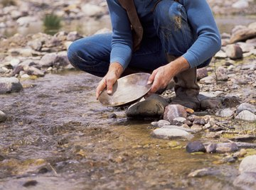Gold prospectors first used bleach to separate the metal from its ore.