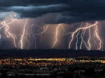 Even 10 miles from a thunderstorm, you're vulnerable to lightning.