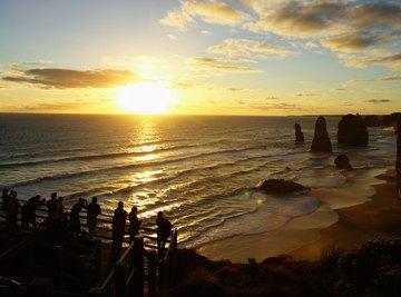 Sunset at the Twelve Apostles, Victoria, Australia