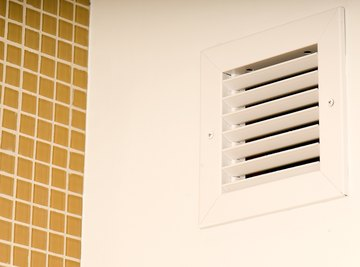 Air flows continuously through a system's vents.