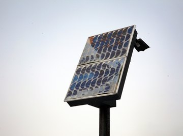 Small, affordable solar panels provide power for a wide variety of applications.