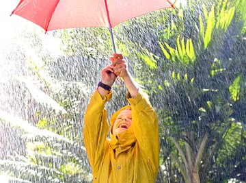 Refreshing rain can become polluted groundwater.