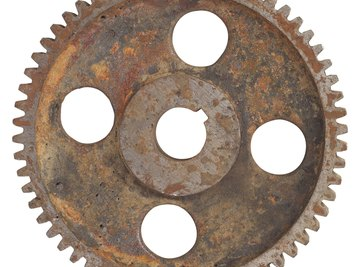 Many gears are made out of 4140 steel.