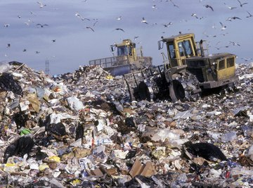 Even waste sent to a landfill doesn't really go away.