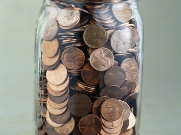 Depending on their age, some pennies will be more tarnished than others.