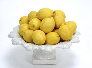 Use nails as electrodes and make your own lemon battery.