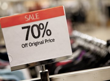 When shopping, it is helpful to know the discounted price.