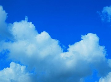 The vast majority of clouds form within the troposphere.