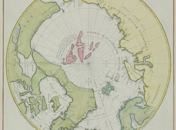 The geographic and magnetic north poles don't quite match up.