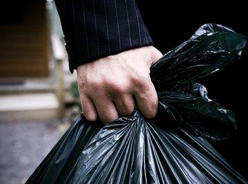 You need a big bag for composting.