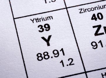 The rare earth element yttrium is used in cancer-fighting drugs.