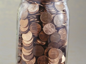 Pennies discolor over time simply by being handled.