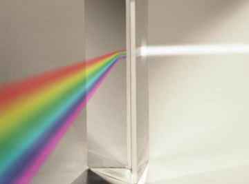 The visible emission spectrum of hydrogen can be observed through a prism.