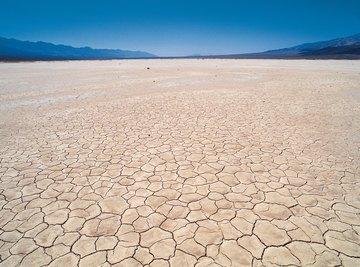 The Gobi Desert has little sand but very rocky terrain.