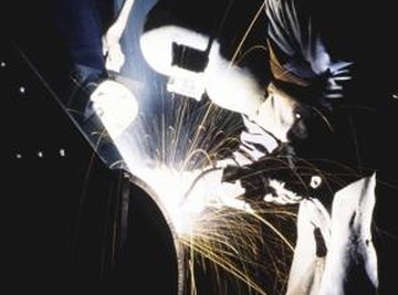 Welding creates a permanent bond between two metal pipes