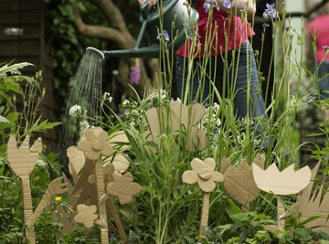 You can recycle grey water in a watering can to water your garden.