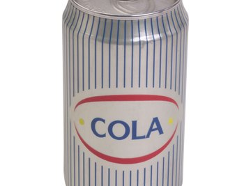 Any brand or flavor of soda works for a cooling experiment.