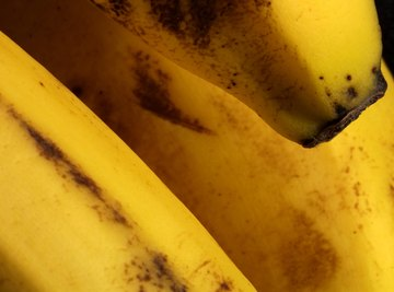 A chemical process called oxidation turns bananas brown.