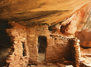 Dwellings were found that were likely used for religious ceremonies.
