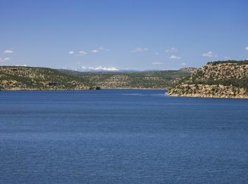 The pH of lake water can be altered by several environmental factors.