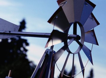The radiometer creates a tiny force similar to wind.
