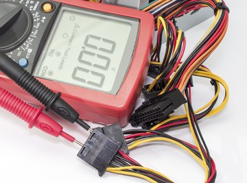 Measuring resistance is an effective way to check for burnt-out circuit elements.