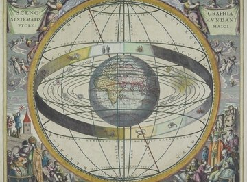 Armillary spheres are medieval models of the sky.
