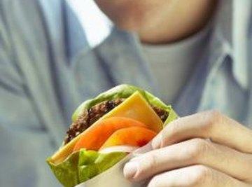 Protein in food is broken down into amino acids.