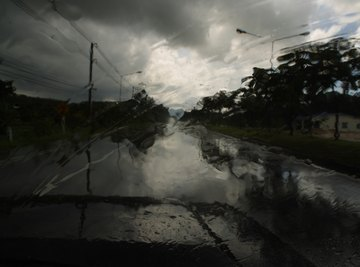 In some parts of the world, the majority of annual rainfall occurs thanks to the monsoon.