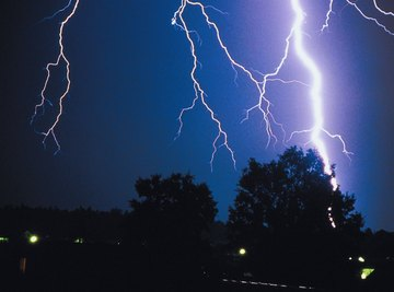 Thunderstorms are related to low pressure systems.