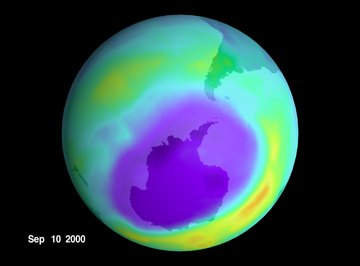 A thinning ozone layer means more ultraviolet radiation and harsher conditions for life.