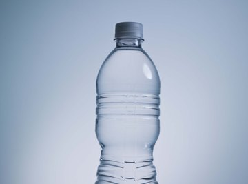 Plastic water bottles can release chemicals that behave like hormones.