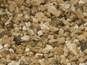 Close-up of vermiculite