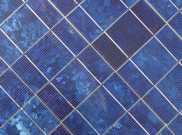 If properly configured, solar panels can power both direct current and alternate current engines.