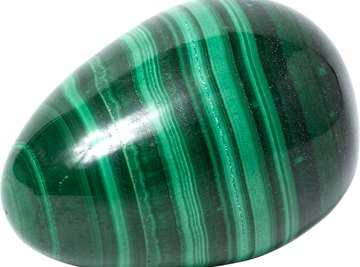 Some stones have identifiable characteristics, such as the defined lines in this stone.