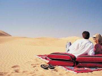 Human activity may influence the ecological difficulties of desert life.