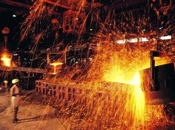 Steel production plant