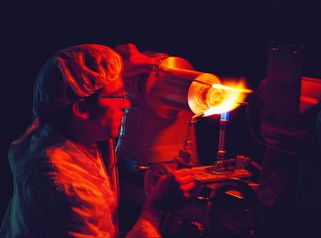 Flame emits colors as atoms get rid of extra energy.