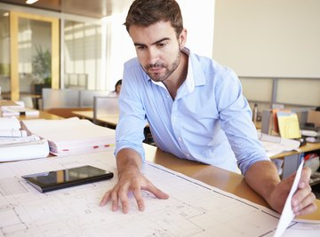 High-tech tools and simple trigonometry help architects work effectively.