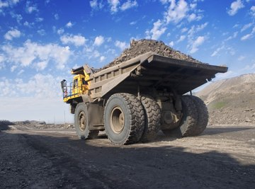 Mining activities disrupt nutrient dynamics of the soil.